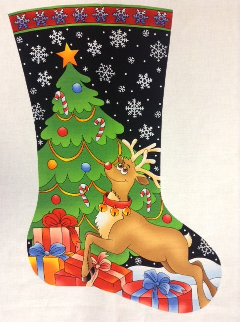 Side 2 Rudolph Stocking