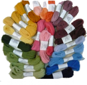 Appleton 2 Ply Crewel Wool Skeins