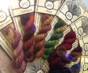 Cottage Garden Variegated 2 Ply Wool