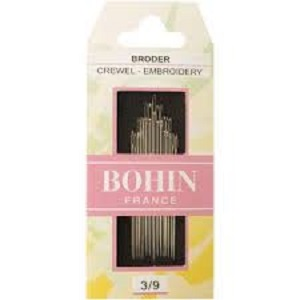 Bohin 3/9 Crewel Embroidery Needles