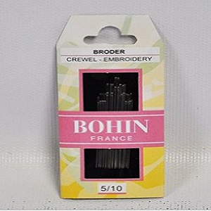 Bohin 5/10 Crewel Embroidery Needles