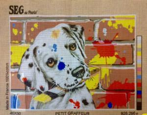 The Petit Graffeur Tapestry