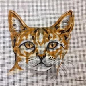 Ginger Tabby Cat Tapestry Kit
