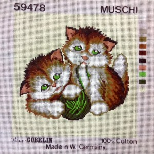 Playful Kittens Tapestry Kit