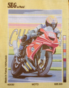 Le Moto Tapestry