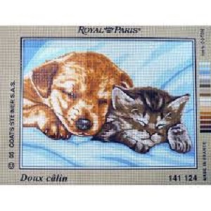 Doux Calin Tapestry by Royal Paris