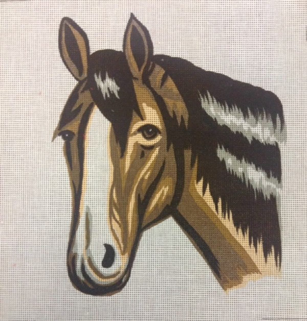 The Inquisitive Horse Tapestry Kit