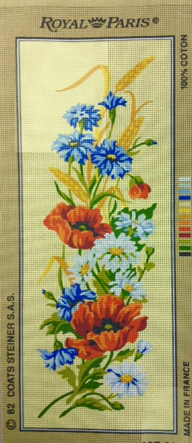 Poppies and Daisies Tapestry