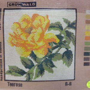 Yellow Rose Tapestry Kit