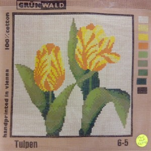 Yellow Tulip Tapestry Kit
