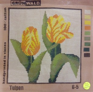 Yellow Tulip Tapestry Kit