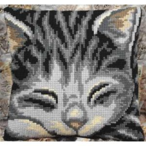 Cross Stitch Cushion Yasmine