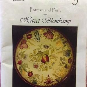Jacobean 3 Daaft Designs Embroidery