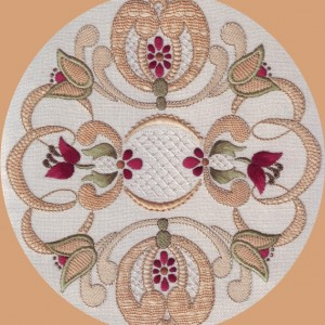 Jacobean 7 Needlelace Daaft Designs Embroidery