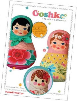 Ooshka Babushka Doll Face and Pattern Kit