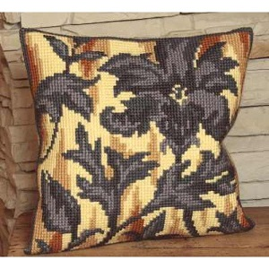 Silhouette á Droite Cross Stitch Cushion Kit