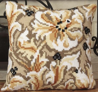 Châtelaine Cross Stitch Cushion Kit