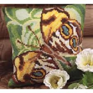 Mystére Cross Stitch Cushion Kit