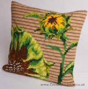 Couchant Cross Stitch Cushion Kit