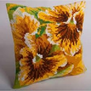Automne Cross Stitch Cushion Kit