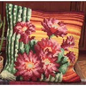 Bonnet d'Evêque Cross Stitch Cushion Kit