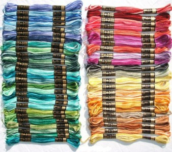 Anchor Stranded Cotton 8m Colours 102-129 100/% Cotton Embroidery Thread Skeins