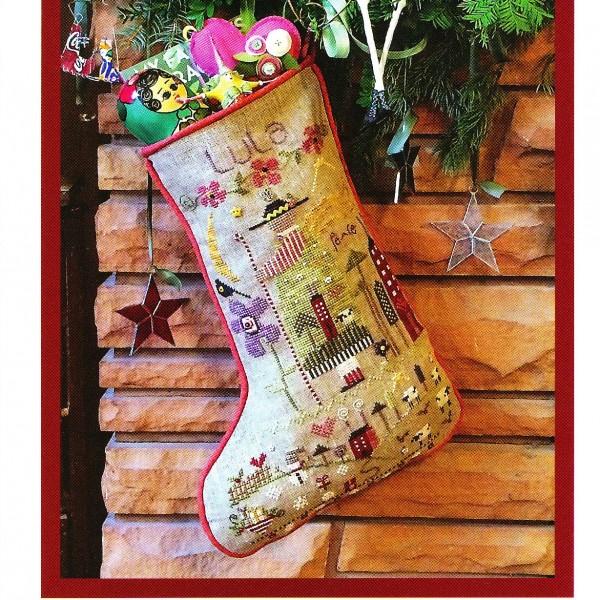 Lulas Cross Stitch Stocking Pattern
