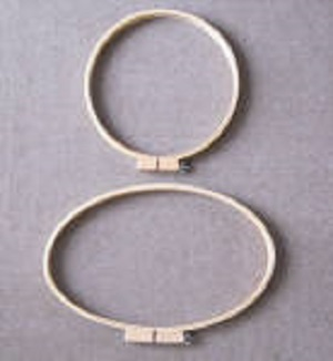 Deep Sided Hoops by JH Bonwick
