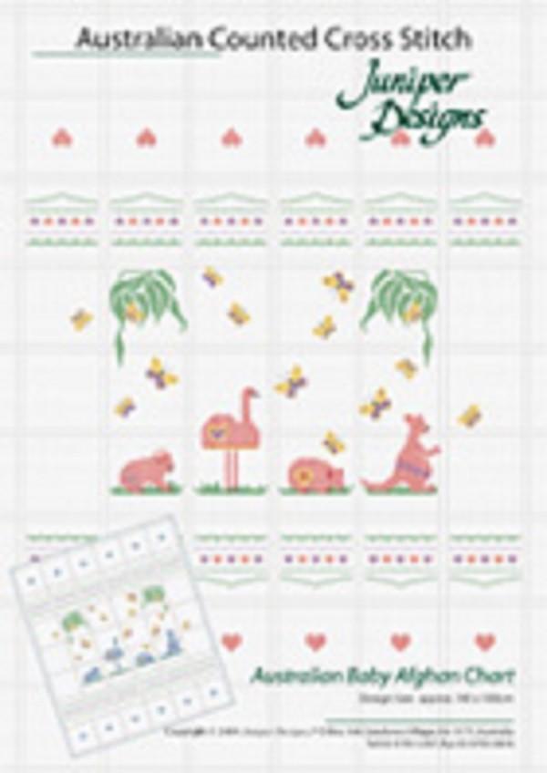 Australian Baby Afghan Chart by Juniper Designs