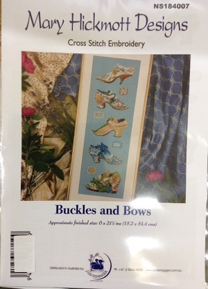Buckles and Bows Chart by Mary Hickmott Designs