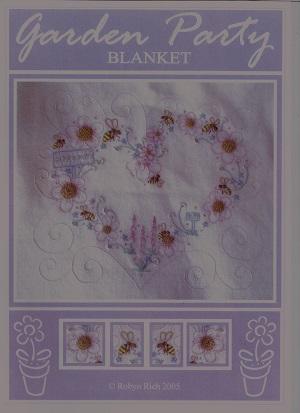 Garden Party Baby Blanket Thread Pack