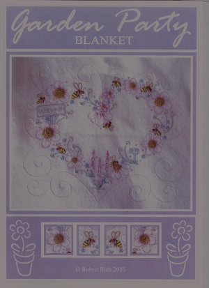 Garden Party Baby Blanket Pattern by Robyn Rich