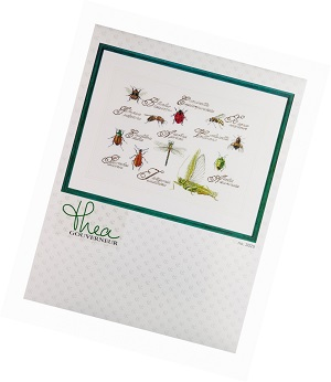 Insects Counted Cross Stitch Kit by Thea Gouverneur
