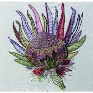 Protea Kit by Rowandean Embroidery