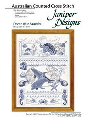 Juniper Designs Ocean Blue Sampler Kit