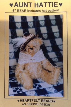 Aunt Hatti 6 inch Teddy Bear Pattern