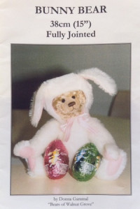 Bunny Bear 15 inch Teddy Bear Pattern