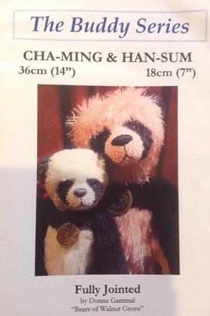 Cha-Ming 14 inch Panda Bear Kit