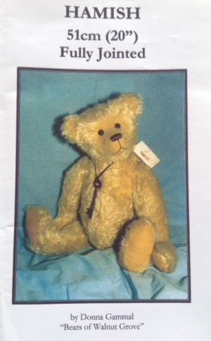 Hamish 20 inch Teddy Bear Pattern
