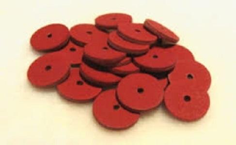 Red Fibre Discs