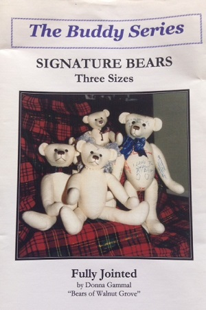 Signature Bears Teddy Bear Pattern