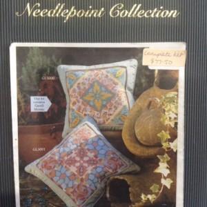 Glorafilia Gaudi Mosaic Needlepoint Cushion Kit