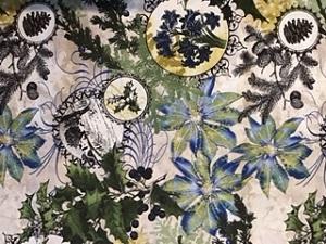 Wintergraphix Cotton Fabric