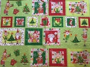 Razzle Dazzle Christmas Panel