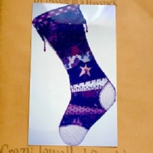 Crazy Jewelled Stocking Christmas Decoration Kit
