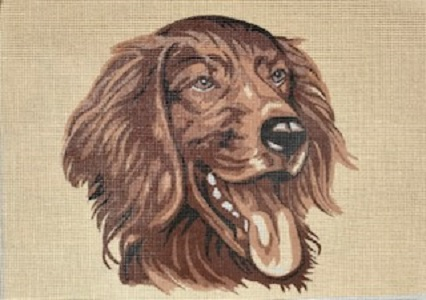 The Happy Spaniel Dog Tapestry Kit