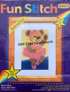 Ballet Bear Starter Long Stitch