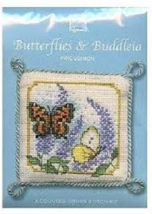 Butterflies Buddleia Needle Case Kit
