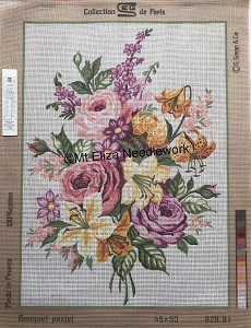Bouquet Pastel Tapestry