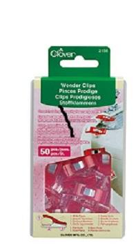 Clover Wonder Clips 50 Pack